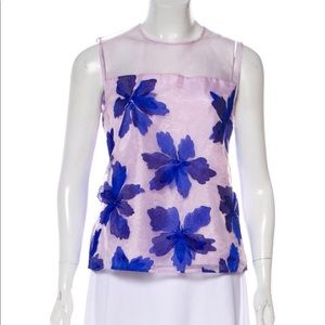 Ted Baker XS Embroidered Top